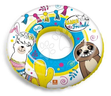 Nafukovací kruhy - Nafukovací plovací kruh Llama a přátelé Mondo 50 cm od 2 let