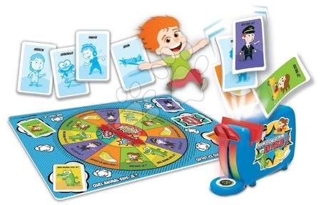 Spoločenské hry - Spoločenská hra Devine Ce Que Je Mime En Folie! Educa francúzsky pre 2-6 hráčov od 6 rokov_1