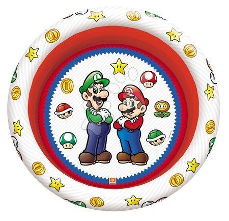 Piscine pentru copii - Piscină gonflabil cu trei camere Super Mario Mondo diametru de 100 cm de la 10 luni_1