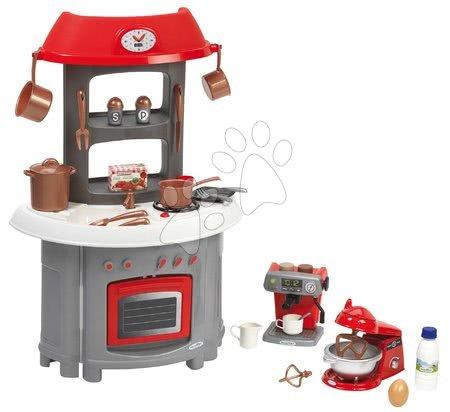 Écoiffier - Kuchyňka Superpack 3in1 Écoiffier s kávovarem a kuchyňským robotem 32 doplňků od 18 měs