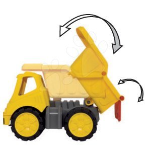 Kültéri játékok - Billenő platós autó Maxi Bolide Smoby hossza 33 cm