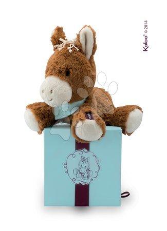 Plyšový koník Mocha Les Amis-Cheval Kaloo 25 cm v darčekovom balení pre najmenších