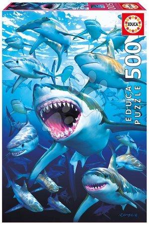 Puzzle Genuine Shark Club Educa 500 dielov od 11 rokov