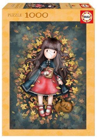 Puzzle SANTORO Gorjus Autumn leaves Educa 1000 dielov + Fix puzzle lepidlo EDU17114
