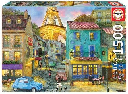 Puzzle Genuine Paris streets Educa 1500 darabos 11 évtől