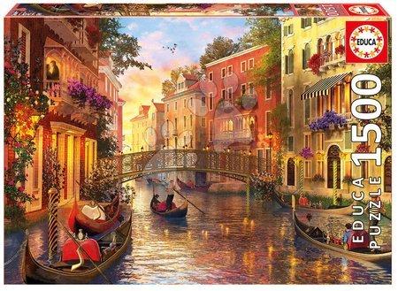 1500 darabos puzzle - Puzzle Genuine Sunset in Venice Educa 1500 darabos 11 évtől