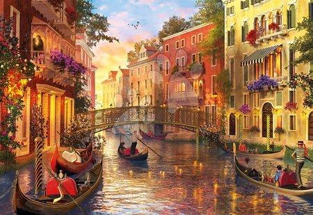 1500 darabos puzzle - Puzzle Genuine Sunset in Venice Educa 1500 darabos 11 évtől_1