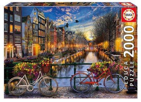 Puzzle - Puzzle Genuine Amsterdam Educa 2000 de piese de la 11 ani