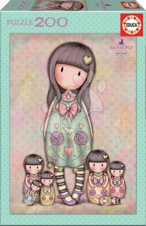 Santoro London - Puzzle Santoro London Gorjuss Educa Seven sisters 200 dílů od 6 let