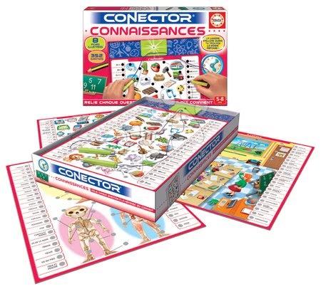 Spoločenské hry - Spoločenská hra Conector Connaissances Educa francúzsky 352 otázok od 5 rokov_1