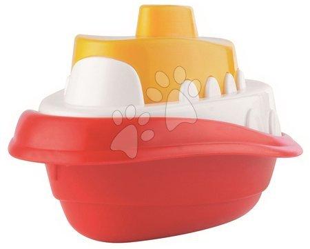 Kültéri játékok - Csónak vízbe Maxi Écoiffier hossza 18 cm piros/zöld/sárga 3 drb 18 hó-tól_1
