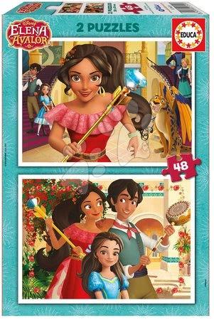 Puzzle Elena de Avalor Educa 2x48 dílků 17401