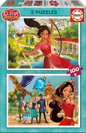 Puzzle Elena de Avalor Educa 2x 100 dielov od 6 rokov