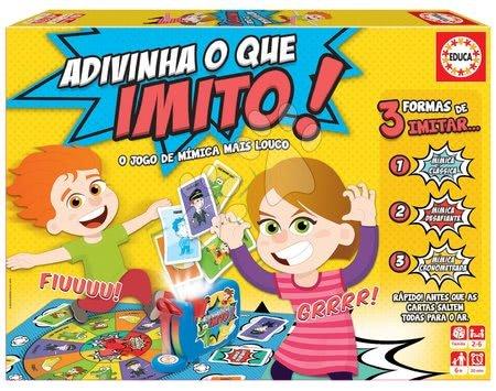 Spoločenské hry - Spoločenská hra Adivina que imito! Educa španielsky pre 2-6 hráčov od 6 rokov