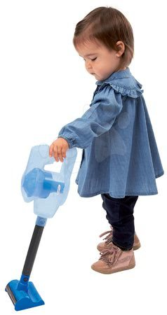 Hry na domácnosť - Upratovací vozík s tyčovým vysávačom CleanHome Écoiffier s čistiacimi prostriedkami od 18 mes_1
