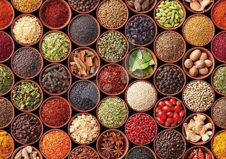 1500 darabos puzzle - Puzzle Herbs and spices Educa 1500 darabos és Fix ragasztó 11 évtől_1