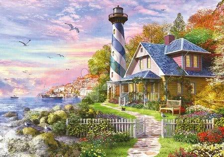 - Puzzle Lighthouse at Rock Bay Educa 4000 delov od 11 leta_1