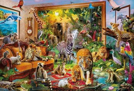 - Puzzle Entering the bedroom Educa 6000 delov od 11 leta_1