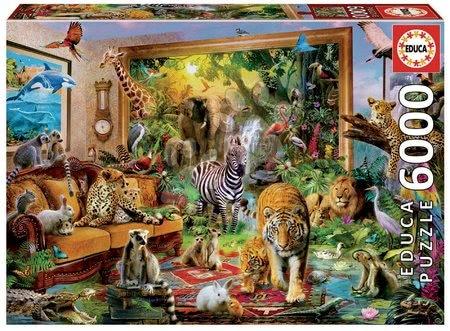 - Puzzle Entering the bedroom Educa 6000 delov od 11 leta