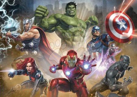 Avengers Assemble - Puzzle The Avengers Educa 1000 dielov+Fix puzzle lepidlo EDU17694 _1