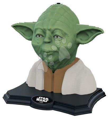 Puzzle - Kiparske puzzle 3D Sculpture - Star Wars Yoda Educa Color edition 160 delov od 6 rokov