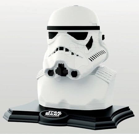 Kiparske puzzle 3D Sculpture - Star Wars Stormtrooper Educa Color edition 160 delov od 6 leta