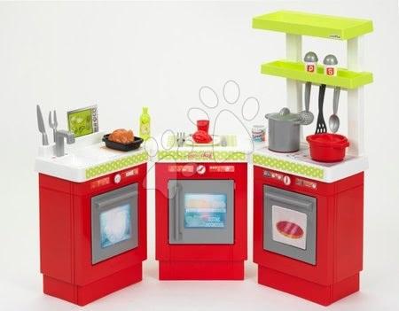 Kuchynka trojdielna 100% Chef Écoiffier s hrncami potravinami a prestieraním od 18 mes
