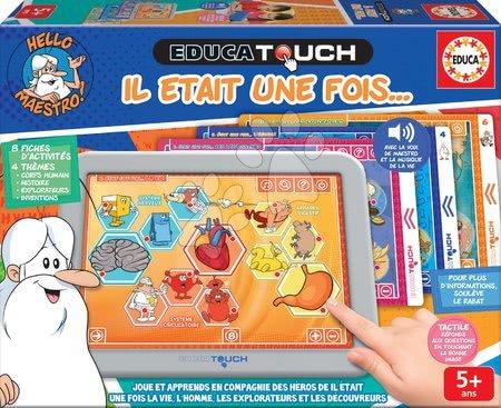 Interaktivne igrače - Elektronska tablica Hello Maestro Contens Educa za otroke od 5 leta v francoščini - razlaga svet okoli nas