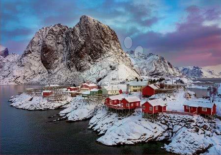 1500 darabos puzzle - Puzzle Lofoten Islands Norway Educa 1500 darabos és Fix ragasztó 11 évtől_1