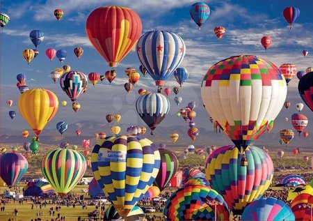 1500 darabos puzzle - Puzzle Hot Air Balloons Educa 1500 darabos és Fix ragasztó 11 évtől_1