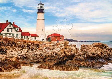 1500 darabos puzzle - Puzzle Rocky Lighthouse Educa 1500 darabos és Fix ragasztó 11 évtől_1