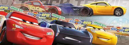 Panoramske puzzle - Puzzle Cars Panorama Educa 1000 delov in Fix lepilo od 11 leta_1
