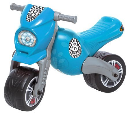 Bébitaxi kismotor Cross Dohány maxi nagy kék 76*39*54 cm teherbírása 50 kg