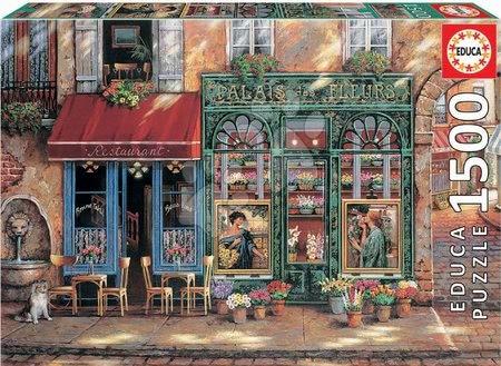 1500 darabos puzzle - Puzzle Palais des Fleurs Educa 1500 darabos és Fix ragasztó 11 évtől