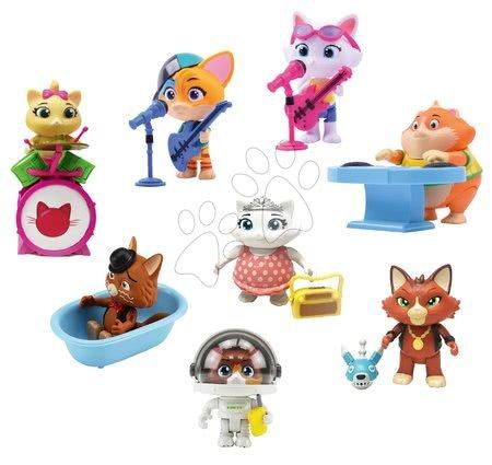Kreativne i didaktičke igračke - Figurice mačke 8 kom 44 Cats Smoby s dodacima - veliki set