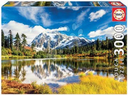 Igračke za sve od 10 godina - Puzzle Mount Shuksan Washington USA Educa 3000 dielov EDU18011