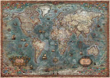 - Puzzle Historical World Map Educa 8000 delov od 11 leta_1