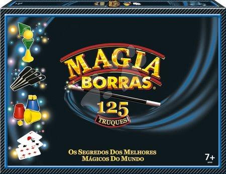 Spoločenské hry - Kúzelnícke hry a triky Tecnomagia Grand set Borras Educa 125 hier španielsky a katalánsky od 7 rokov