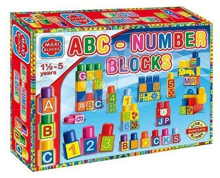 DOHANY 682 Maxi Bausteine ABC - number v