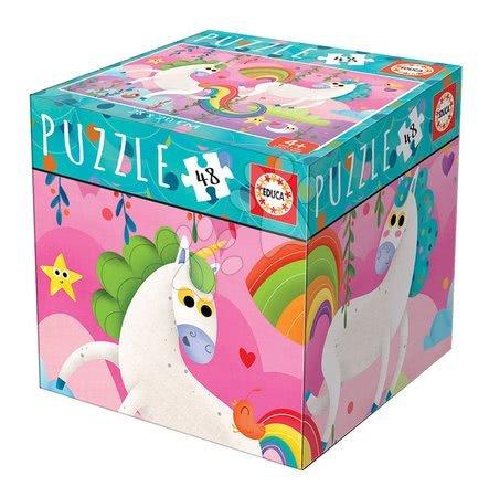 Puzzle Mini Box Unicorn Educa 48 dielov od 4 rokov