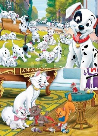 Lesene Disney puzzle - Lesene puzzle za otroke Disney živalce Educa 2x25 delov_1