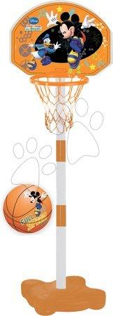 Rekreációs sport - Kosárlabda gyűrű Mickey Mondo állítható állvánnyal és labdával 5 évtől