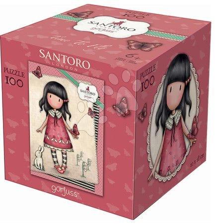 Santoro London - Puzzle Mini Cubes Santoro London Gorjuss Time to Fly Educa 100 dílků od 6 let