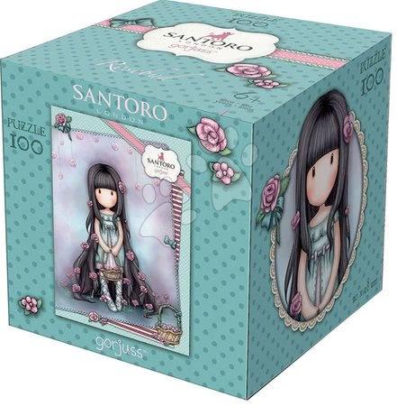Santoro London - Puzzle Mini Cubes Santoro London Gorjuss Rosebud Educa 100 dílků od 6 let