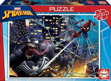 Dětské puzzle od 100–300 dílků - Puzzle pro děti Spiderman Educa 200 dílků od 6 let