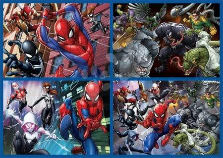 Spiderman - Puzzle Multi 4 Spiderman Educa 50-80-100-150 piese de la 5 ani_1