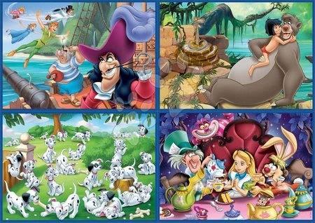 Progresivní dětské puzzle - Puzzle Multi 4 Disney Educa 50-80-100-150 dílků od 5 let_1