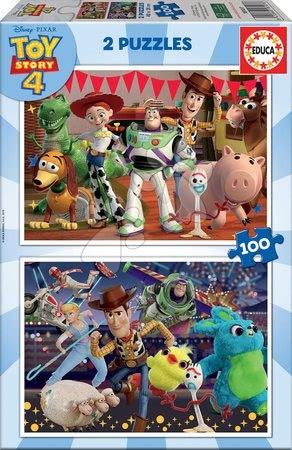 Toy Story - Puzzle Toy Story 4 Educa 2x100 dielov od 6 rokov