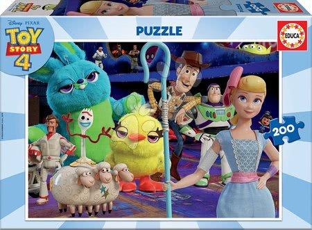 Toy Story - Puzzle Toy Story 4 Educa 200 dielov od 8 rokov