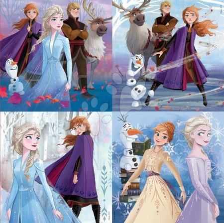 Progresivní dětské puzzle - Dětské puzzle v kufříku Frozen 2 Case Educa 12-16-20-25 dílků od 4 let_1